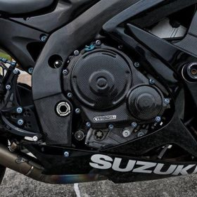 SUZUKI GSX-R 600-750 2006-2010 Carbon Fiber Frame Covers 8