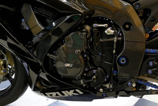 SUZUKI GSX-R 600-750 2006-2010 Carbon Fiber Frame Covers 6