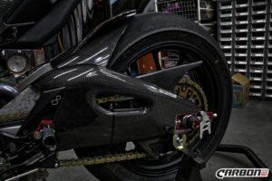 APRILIA RSV4 2009-2016 Carbon Fiber Chain Cover 5
