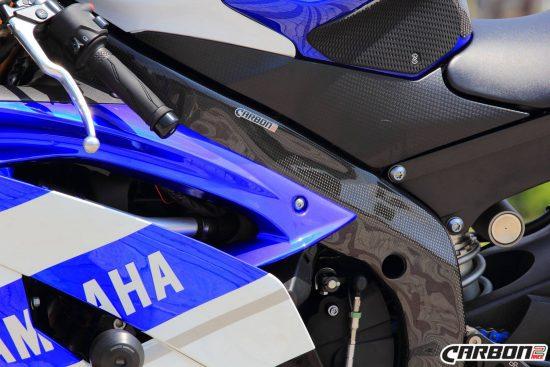 YAMAHA YZF-R6 2006-2016 Carbon Fiber Frame Covers 9