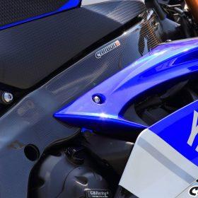 YAMAHA YZF-R6 2006-2016 Carbon Fiber Frame Covers 10