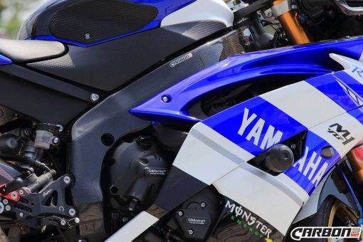 YAMAHA YZF-R6 2006-2016 Carbon Fiber Frame Covers 12