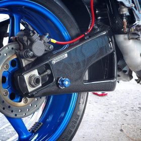 YAMAHA YZF-R1 2009-2014 Carbon Fiber Swingarm Covers 7