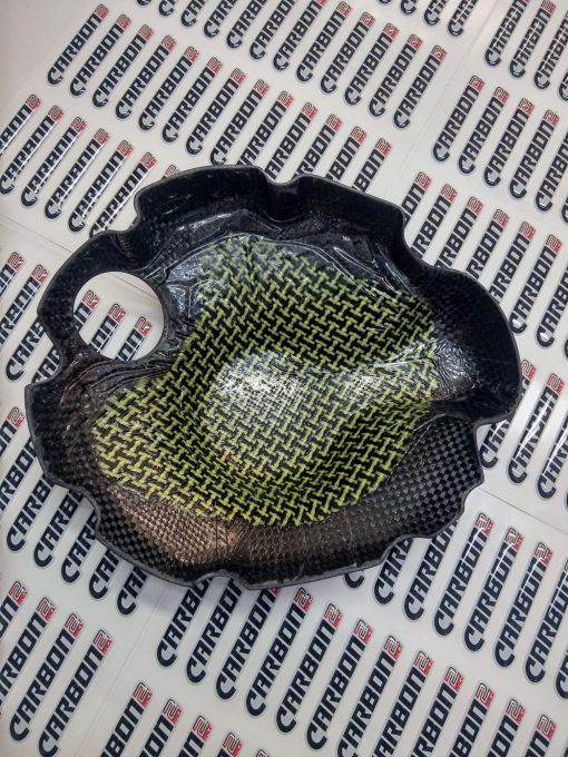 YAMAHA YZF-R6 2006-2016 Carbon Fiber Clutch Cover 2