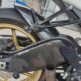 KAWASAKI ZX10R 2008-2010 Carbon Fiber Swignarm Covers