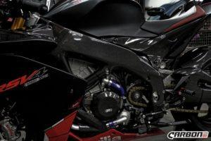 APRILIA RSV4 2009-2017 Carbon Fiber Frame Covers 10