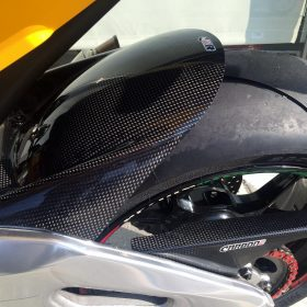 APRILIA RSV4 2009-2017 Carbon Fiber Rear Hugger 8