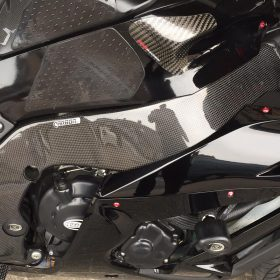 I ZX-10R 2011-2015 Carbon Fiber Frame Covers 7