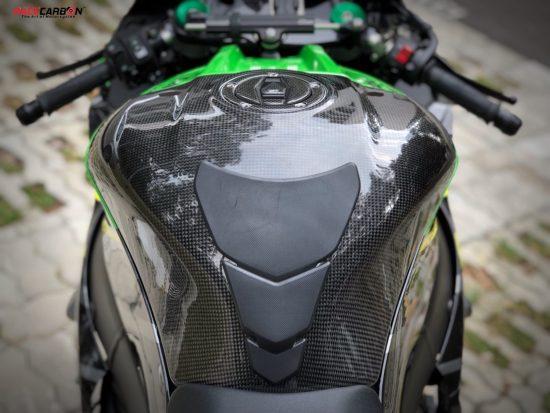 KAWASAKI ZX-10R 2011-2019 Carbon Fiber Tank Cover