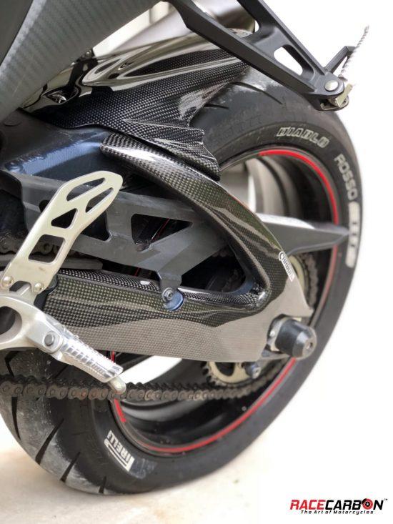 SUZUKI GSXR 1000 2009-2016 Carbon Fiber Rear Hugger