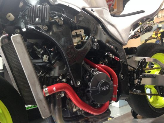 HONDA CBR 600RR Carbon Fiber Frame Covers