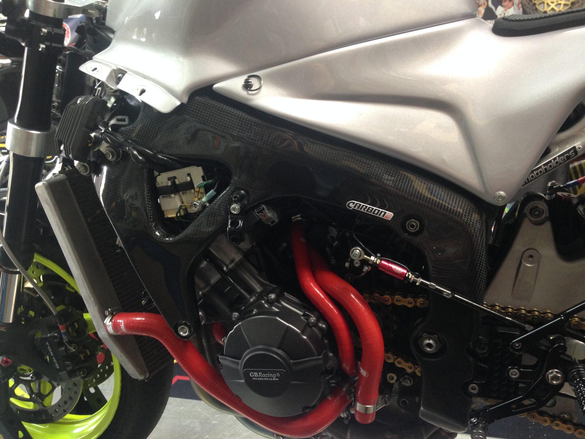 Honda Cbr 600 Rr 2007 2016 Carbon Fiber Frame Covers