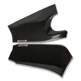KAWASAKI ZX-10R 2008-2010 Carbon Fiber Swingarm Covers 1