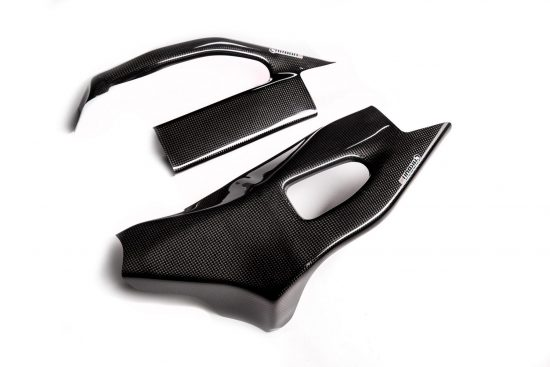 SUZUKI GSX-R 1000 2005-2006 Carbon Fiber Swingarm Covers 1