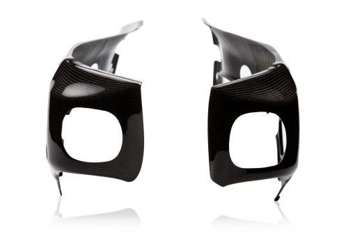 SUZUKI GSX-R 1000 2007-2008 Carbon Fiber Frame Covers 3