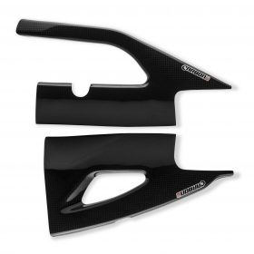 SUZUKI GSX-R 1000 2007-2008 Carbon Fiber Swingarm Covers 1