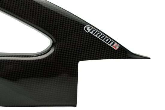 SUZUKI GSX-R 1000 2009-2015 Carbon Fiber Swingarm Covers 7