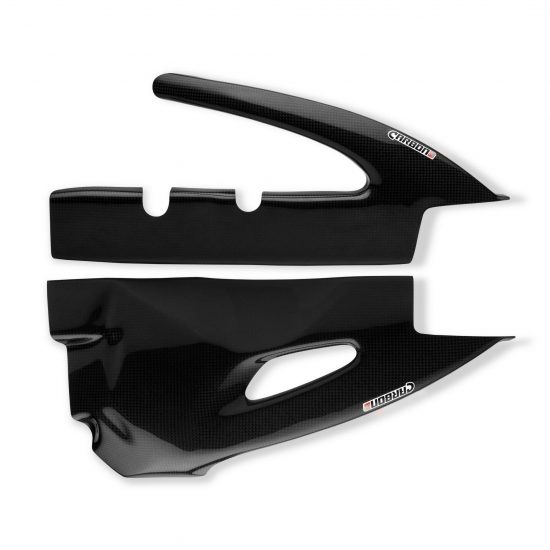 SUZUKI GSX-R 600-750 2006-2010 Carbon Fiber Swingarm Covers 1