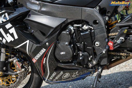 SUZUKI GSX-R 600-750 2011-2016 Carbon Fiber Frame Covers 7