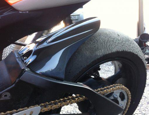 SUZUKI GSX-R 1000 2005-2008 Carbon Fiber Rear Fender Extended 4