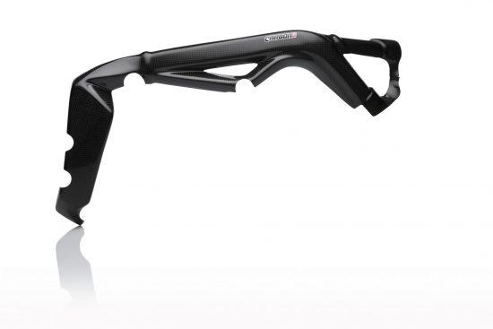 TRIUMPH Daytona 675 2013-2016 Carbon Fiber Frame Covers 3