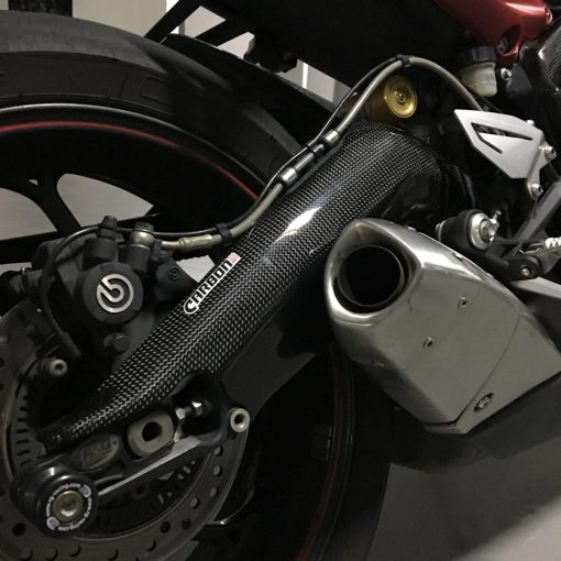TRIUMPH Daytona 675 2013-2017 Carbon Fiber Swingarm Covers 5