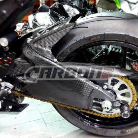 KAWASAKI ZX-6R 2009-2016 Carbon Fiber Chain Cover 4