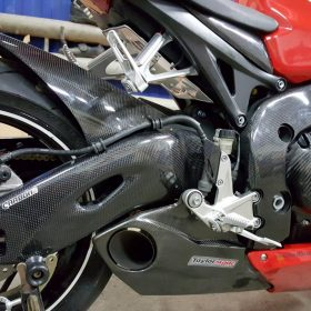 HONDA CBR 1000RR 2008-2016 Carbon Fiber Swingarm Covers 7