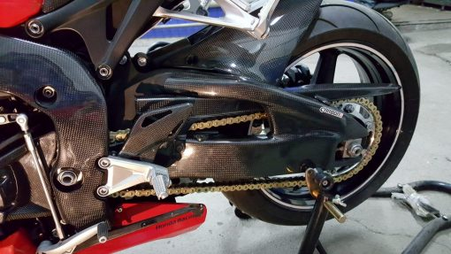 HONDA CBR 1000RR 2008-2016 Carbon Fiber Swingarm Covers 8