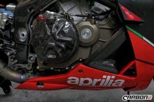 APRILIA RSV4 2009-2015 Carbon Fiber Lower Fairing Pullers 10