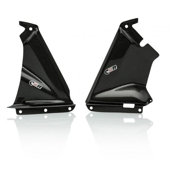 APRILIA RSV4 2009-2015 Carbon Fiber Lower Fairing Pullers 1