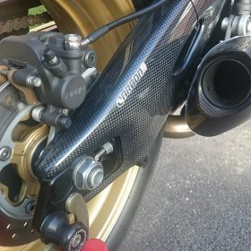 HONDA CBR 1000RR 2008-2016 Carbon Fiber Swingarm Covers 12