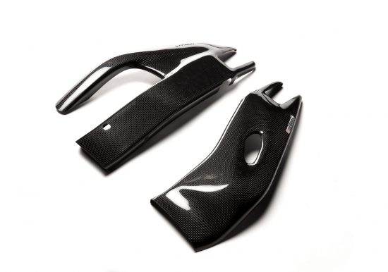 HONDA CBR 1000RR 2008-2016 Carbon Fiber Swingarm Covers 1