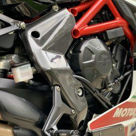 MV AGUSTA F3 675-800 Carbon Fiber Frame Covers