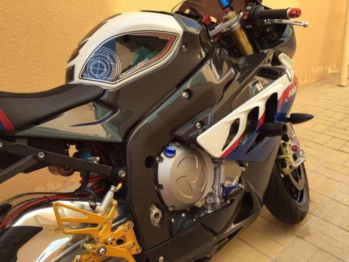 BMW S 1000RR 2012-2014 Carbon Fiber Frame Covers 12