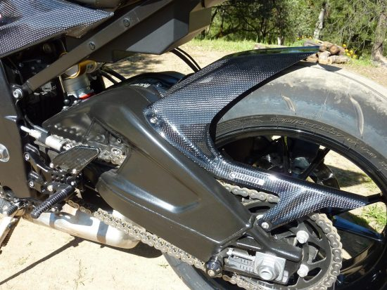 BMW S 1000RR 2009-2017 Carbon Fiber Rear Hugger 6