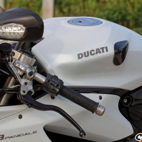 DUCATI 899-959-1199-1299 Panigale Carbon Fiber Tank Sliders 7
