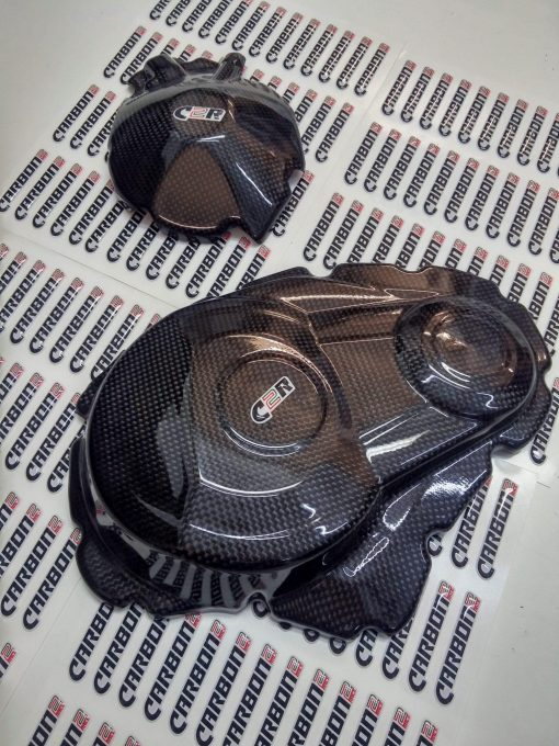 SUZUKI GSX-R 1000 2009-2015 Carbon Fiber Engine Covers 1