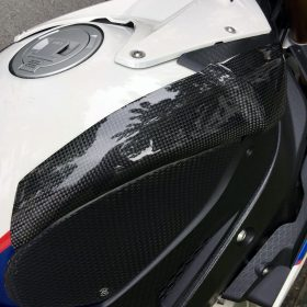 BMW S 1000RR 2009-2014 Carbon Fiber Tank Sliders 6