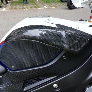 BMW S 1000RR 2009-2014 Carbon Fiber Tank Sliders 11