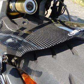 HONDA CBR 1000RR 2004-2007 Carbon Rear Hugger