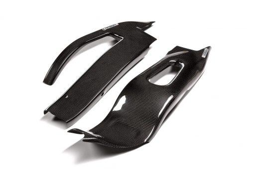 HONDA CBR 1000RR 2004-2007 Carbon Fiber Swingarm Covers 1