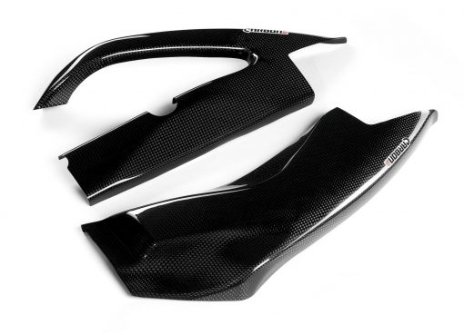 SUZUKI GSX-R 1000 2009-2016 Carbon Fiber Swingarm Covers 1