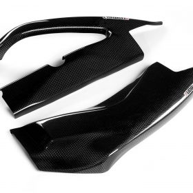 SUZUKI GSX-S 1000 2015-2017 Carbon Fiber Swingarm Covers 1