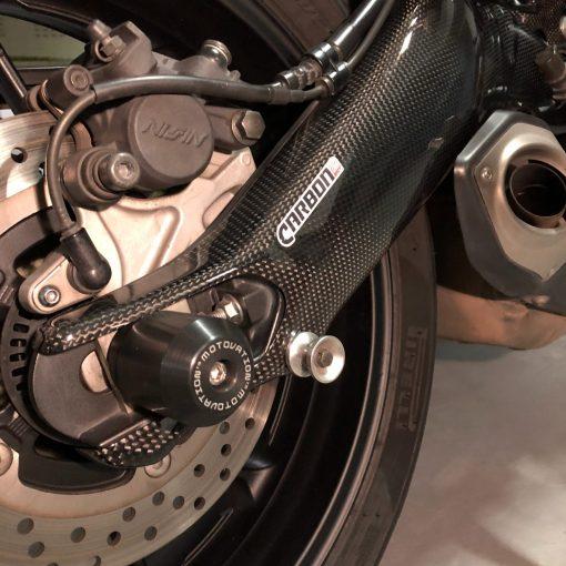 YAMAHA MT-09 Carbon Fiber Swingarm Covers