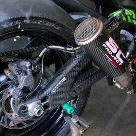 KAWASAKI ZX-10R 2016-2017 Carbon Fiber Swingarm Covers