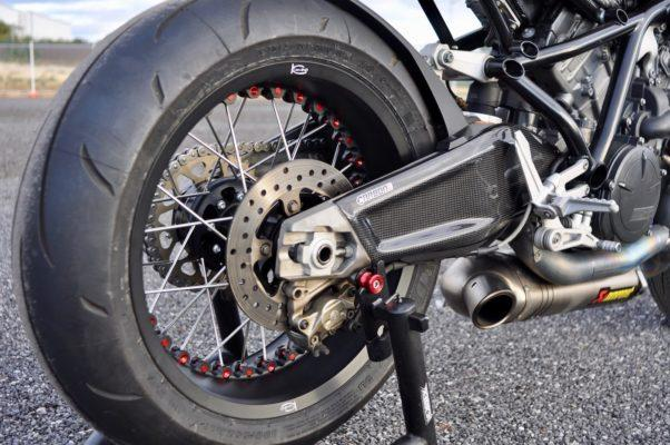 KTM RC8 Carbon Fiber Swingarm Covers
