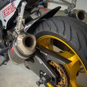 SUZUKI GSXR 1000 2007-2008 Carbon Fiber Swingarm Covers