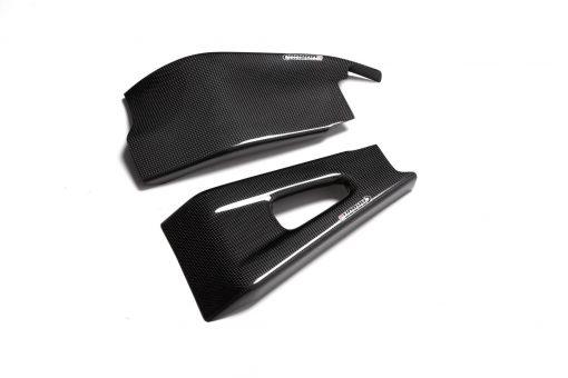 HONDA CBR 600RR 2003-2004 Carbon Fiber Swingarm Covers 1