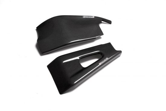 HONDA CBR 600RR 2003-2004 Carbon Fiber Swingarm Covers 1